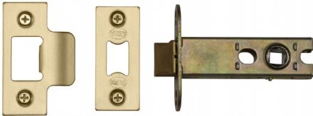 M Marcus York Security YKAL3-SB Architectural Mortice Latch 76mm Satin Brass